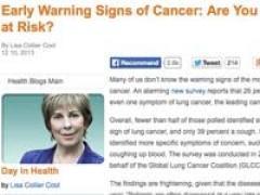 これってもしかして……? がんを疑うべき10の兆候