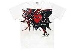 ギャルソン×岡本太郎コレクション公開 Tシャツから椅子まで