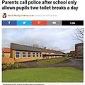 英スクール、生徒に1日2度しかトイレ使用を許さず(出典:http://metro.co.uk)