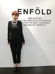 植田みずきが新ブランド、「ENFOLD」2012年春夏デビュー