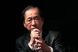 ドキュメンタリー映画『ナオトひとりっきり Alone in Fukushima』のトークイベントに出席し、原子力発電所事故当時の背景を振り返った菅直人元首相