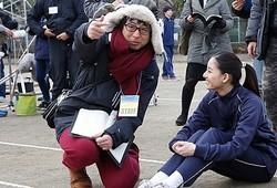 胸キュンの体育祭シーンを撮影中!  - (C)2017『僕らのごはんは明日で待ってる』製作委員会