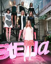 ステラ・マッカートニー、NYで2014年春コレクション発表