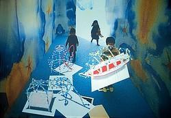 日本初ジャン=ミッシェル・オトニエル個展でボンポワンが3Dワークショップ