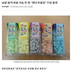 性器の形をした米国産キャンティーが韓国で輸入不可に「韓国なら誰もが反対」
