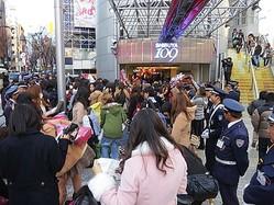 渋谷109初売り大行列 恒例の福袋″物々交換″に熱気