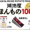 ポテトチップ新商品の発売記念キャンペーンの訴求イメージ(写真:湖池屋発表資料より)