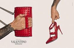 ヴァレンティノ、ロックスタッズコレクションの期間限定店がIDOLに