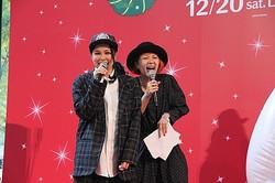 映画『ベイマックス』の公開記念ライブイベントにて同作エンディング曲を披露したAIと217