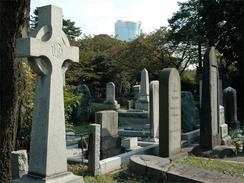 青山霊園の外国人墓地(撮影:徳永裕介)