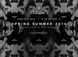 【生中継】ジーゼニアがショーをライブ配信 2014春夏メンズ
