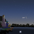 30日の明け方、金星が最大光度に 三日月のように欠けた姿を観測可能