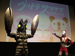 大丸松坂屋・パルコ初の共同企画 ウルトラマンとバルタン星人が応援