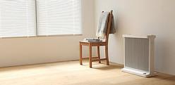 オイルを使わない新暖房「スマートヒーター」バルミューダが発表