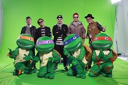RIP SLYME&タートルズ  - (C)2014 Paramount Pictures. All Rights Reserved.