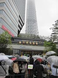 日本の新名所スカイツリーのお膝元「東京ソラマチ」開業