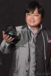 (2013年9月に撮影) ファッションイベントに出演していた、与沢翼氏