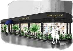 メゾンキツネ南青山に2店舗同時オープン カフェ併設