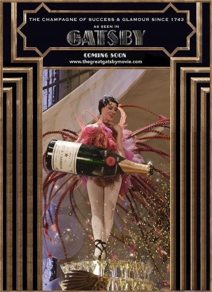 「華麗なるギャツビー」公開記念『バッグハンガー付 モエ・エ・シャンドン モエ アンペリアル』を限定発売!