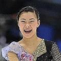 総合3位で世界選手権への切符を手にした村上佳菜子 (photo by TSUTOMU KISHIMOTO)  [2010年12月26日 長野市多目的スポーツアリーナ/長野/日本]