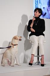 滝川クリステルが愛犬と登場 ラルフ ローレンがペットのためのチャリティイベント開催