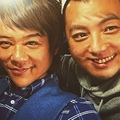 顔面チェンジした木下隆行と杉浦太陽(出典:https://www.instagram.com/tko.kinoshita)
