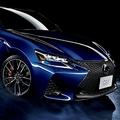 トヨタが発売したレクサスの4ドアスポーツセダン「GS F」(写真提供:トヨタ自動車)