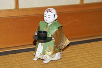 「茶運び人形」を動かす