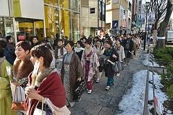 着物姿120人が神戸の港町を闊歩する「合同きもの日和」開催