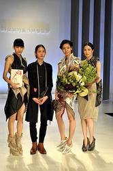 新人コンテスト第86回装苑賞は玉田達也「身体構造から創造される衣服」