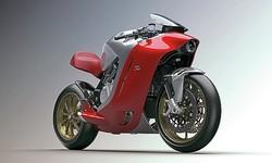 近未来的なボディのスーパーバイク「MVアグスタ F4Z」の写真が公開される。ミラノの著名デザインハウスとコラボ