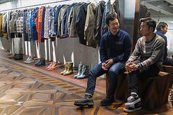デザイナー相澤陽介と写真家 石川直樹が「山」について語る ホワイトマウンテニアリング店内で写真展開催