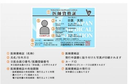 免許 医師 カードタイプの医師免許証?日本医師会の医師資格証とは。費用・申込方法。