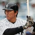 ヤンキースでプレーする松井秀喜(Photo:B.O.S.)