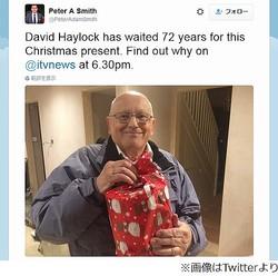 """70年後に届いたXmasプレゼント、""""サンタにお願い""""古い手紙の主判明。"""