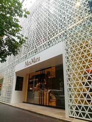 マックスマーラ銀座旗艦店 オープン10周年で初の大規模改装