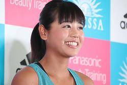 ビーチバレーの坂口佳穗選手
