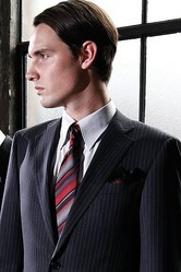 スーツも生産地情報を明確に レナウンがスタート
