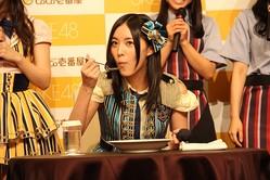 「SKE48」とのキャンペーンも売り上げアップに貢献した(写真は、2014年9月2日撮影)