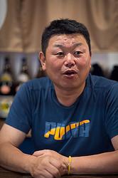 東京・新橋で自ら厨房に入る「肉蔵デーブ」を開店、ランチ終了後の合間に語ってくれたデーブ大久保前監督