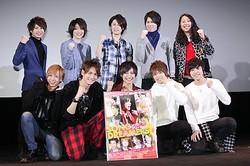 劇場版『ソングドリーマーズ☆』の初日舞台あいさつが行われそれぞれが感慨深げな表情を見せた
