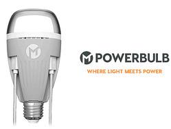 電球でiPhoneが充電できる? 枕元でもデスクでもライトがあれば充電OK「USB端子付き電球」が登場