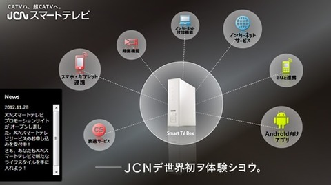 KDDI、Android 4.0搭載セットトップボックス「Smart TV Box」の提供開始について発表!月額9,450円〜