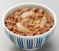 なか卯和風牛丼