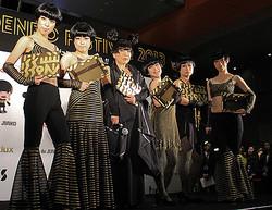 コシノジュンコがアイドルグループ「BiS」の終身名誉メンバーに