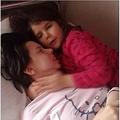 意識を取り戻した母、7歳娘と対面果たす(出典:http://metro.co.uk)