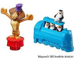 なにこの動き!?映画『マダガスカル3』ハッピーセット、8月10日から販売開始