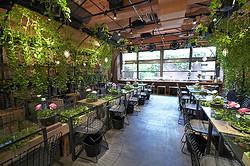 「屋内に公園を」青山フラワーマーケット運営会社が法人向け空間デザイン開始