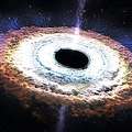 ブラックホールが星を飲み込む瞬間「潮汐破壊」 NASAが映像を公開