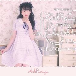 越智ゆらのちゃんが着こなす最新Webカタログ 【Ank Rouge meets YULANO OCHI】公開